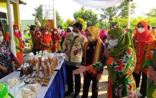 Kota Metro diwakili Kelurahan Rejomulyo ikut serta dalam lomba Kelurahan tingkat Provinsi Lampung