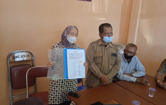Polemik dugaan pemalsuan tandatangan Ketua Kwarcab Gerakan Pramuka Kota Metro
