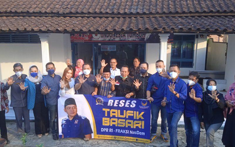 Taufik Basari Ketua DPP BAHU NasDem Berpesan DPD Partai NasDem Kota Metro Jaga Solidaritas